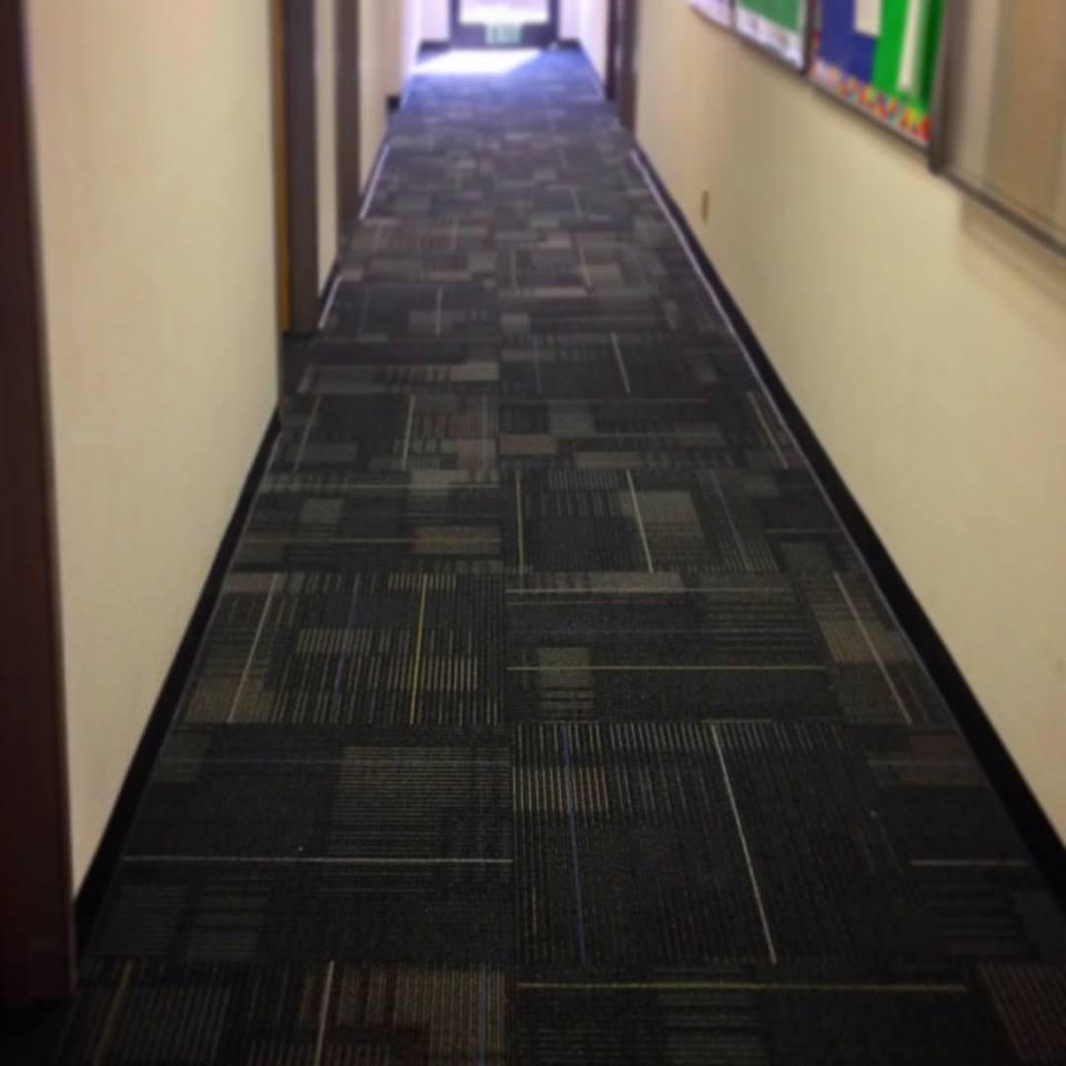 Home Office Vinyl Flooring Tiles In Dubai Risalafurniture Ae: Geometric Carpet Tile
